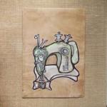 72x50cm, aquarell, tusche auf holz